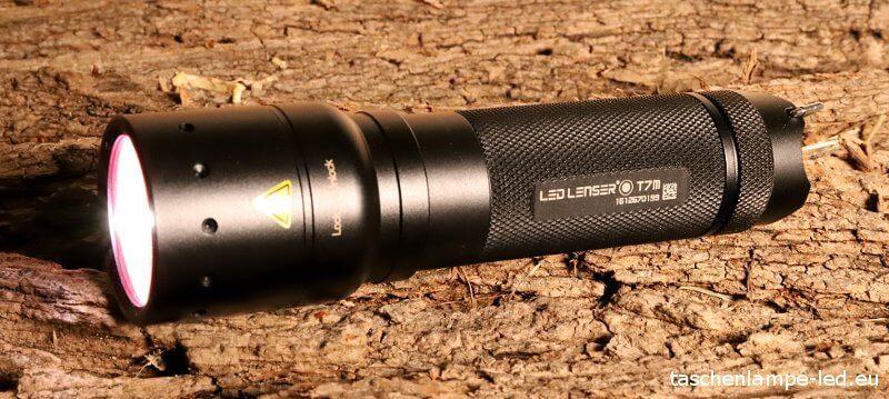 led lenser t7m im Taschenlampen Test