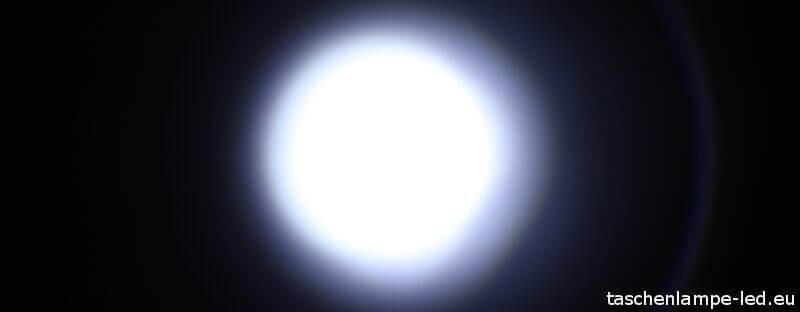 LEDLenser TT Lichtkegel