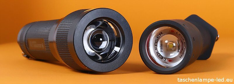 Vergleich: LED Lenser L7 LED Lenser TT