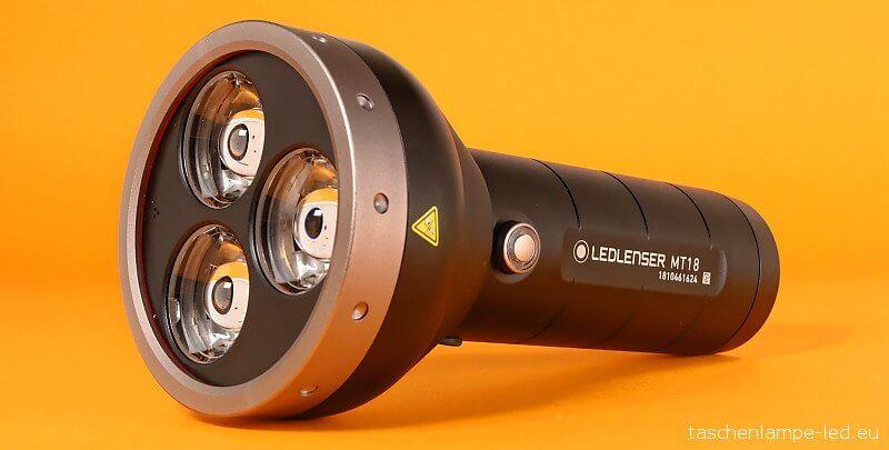 LED Lenser MT18 im Taschenlampen Test