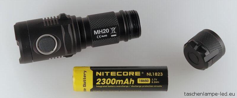 Nitecore MH20 Zerlegt
